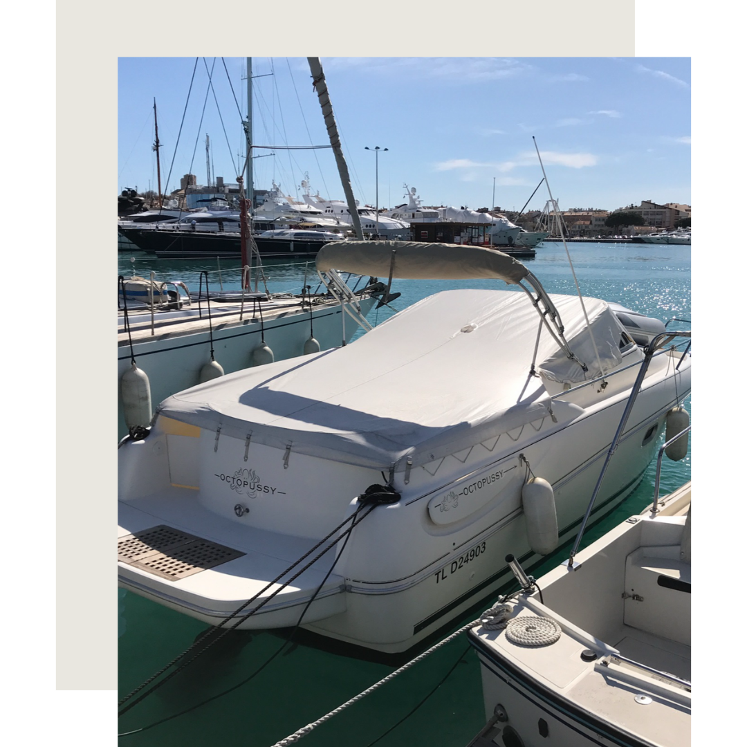 WINTER boat yacht maintenance and management