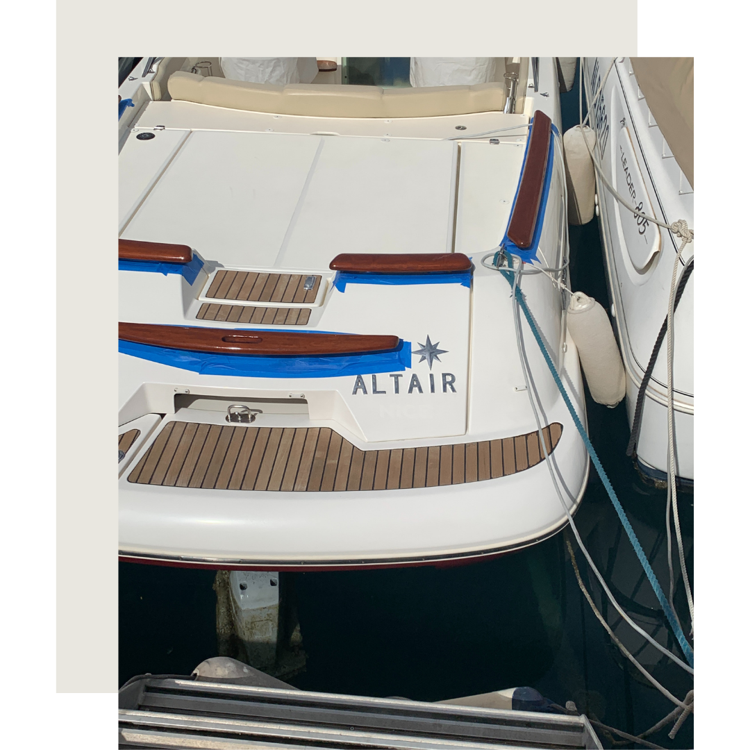 Boat Maintenance repairs south of France Antibes